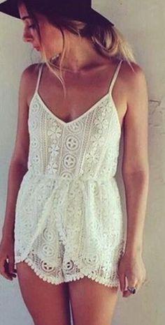 Cute Lace Jumpsuit