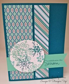 Squeeze Your Creative Juice: Endless Wishes: 5 Ways on Fridays! Stampin Up Christmas, Christmas Greetings, Handmade Christmas, Christmas Cards, Xmas, Endless Wishes, Winter Cards, Creative Cards, Stampin Up Cards