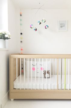 That crib,, notice the different coloured spindles