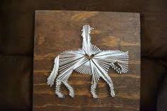 Image result for horse string art