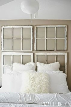 A DIY Headboard For Every Style - Our lovely Hometalk members have shared their favorite DIY headboard styles to save you money, and from decorating boredom! Ou…
