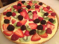 Breakfast in Bed(stuy) / Homemade Fruit Tart