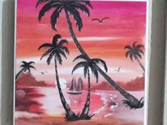 Digito pittura su mattonella