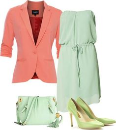 Color Blocking: don't be afraid of pastel colors.