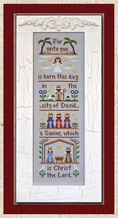 Country Cottage Needleworks - The Nativity - Cross Stitch Pattern