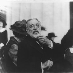 Robert Todd Lincoln, 1843-1926 - Dedication of the Lincoln Memorial, May 30, 1922. Son of Abraham Lincoln