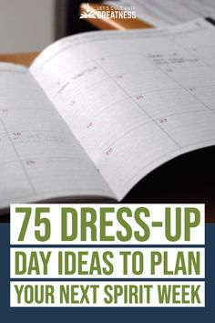 Upgrade your Spirit or Homecoming week dress-up days to one that is more inclusive and inviting for all students with these tips. Also included is 75 great dress-up ideas to try! Student Leadership, Leadership Activities, Physical Education Games, Group Activities, School Games, I School, School Stuff, Elementary School Counseling, Elementary Education