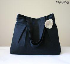 bag, I like the pleats