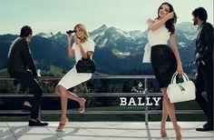 S/S 2012 Bally campaign- with Miranda Kerr
