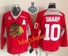 Only $34.88 please email me at maryjerseyelway@gmail.com for Blackhawks 10 Patrick Sharp Red Practice 2015 Stanley Cup Stitched NHL Jersey