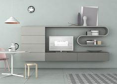 Novamobili Wave Wall Unit 214