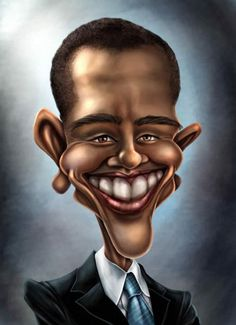 celebrity caricatures and famous people | caricatures of the celebrities 07 in 31 Funny Caricatures of The ...