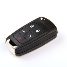 New Stylish Replacement Shell Flip Folding Remote Key Case Keyless Entry Housing FOB for Opel  5 Button Uncut HU100 Blade