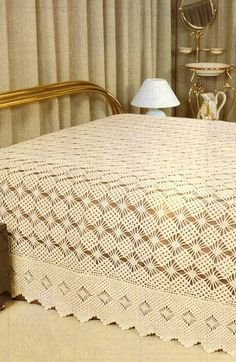 Bedspread Crochet bedspread crochet