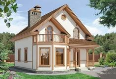 Cottage Floor Plans, Dream House Plans, Small House Plans, Country House Design, Country Style House Plans, Style At Home, Adobe Haus, Model House Plan, Home Design Floor Plans