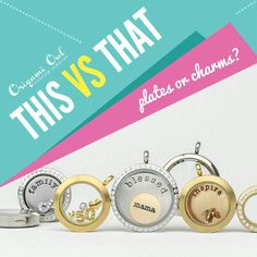 Plates or Charms? I want it all! :-)