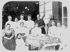 Rudolf Steiner con la  famiglia Specht.