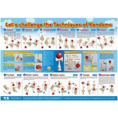 Liven up the walls in your room with this awesome poster from Ozora. This large poster illustrates various kendama grips, tricks, all the parts of a kendama, how to string a Kendama and even the proper string length. Poster Size: 40 x 28 inches 11th Birthday, Cool Posters, Challenges, Entertaining, Illustration, Wooden Toys, Walls, Awesome, Party