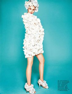 White Spring   Numero China May 2012 Editorial