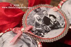 {Family Photo Wreath-Valentine's Day Style}