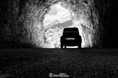 Citroën 2cv bajo el desfiladero de…