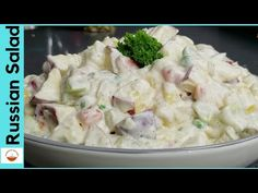 How to make Russian Salad Recipe at home. A Step by Step Complete Recipe of Healthy Salad Recipe by with Sumaira. Russian salad recipe in . Russian Salad Recipe, Russian Recipes, Vegetable Salad Recipes, Fruit Salad Recipes, Saled Recipes, Healthy Mayonnaise, Canapes Recipes, Super Rapido, Cooking Recipes