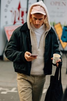 Street Style from London Fashion Week Men's Fall 2018 Shows