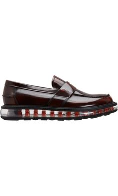 """Prada """"Levitate"""" Penny Loafer -- boo u want these new style penny loafers!! I am giggling to hard"""