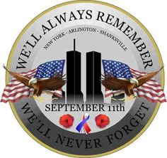 On this day, 18 years ago, we remember the people in New York, the 184 people in Washington, and the 40 people in Shanksville who lost their lives and their families. We Remember and we will never forget. We Will Never Forget, Lest We Forget, Always Remember, 11 September 2001, Remembering September 11th, Remembering 911, Nine Eleven, I Love America, World History