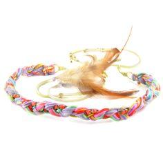 Neon Tie Dye headband