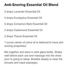 Signs That Prove Your Partner Is a Habitual Snorer Anti-snoring Essential Oil Blend