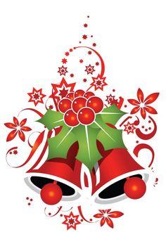Christmas bells clip art