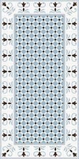 1900: Palau Celeste - 20x20cm. Gibert-3 Gris 20x20cm. Valvanera-2 Celeste - 20x20cm| Pavimento - Gres | VIVES Azulejos y Gres S.A. #interior #design #pattern