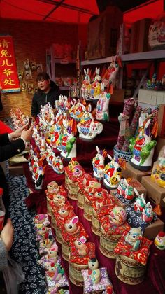 Beijing temple fair, via Discover China