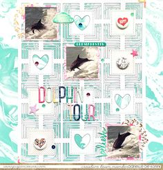 Danielle de Konink for Paper Issues - It's Hip to be Square issue, sponsored by A Flair for Buttons. Dear Lizzy Serendipity collection - The Cut Shoppe cut file. @paperissuesteam @americancrafts @lkartchner @scrappergirl @thecutshoppe @silhouettepins