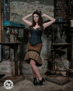 Hey, I found this really awesome Etsy listing at https://www.etsy.com/listing/203701760/steampunk-hi-lo-pencil-skirt