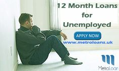 If you are unemployed and need quick funds to resolve some unforeseen expenses, then you can apply for the 12 month loans for unemployed.Fill our online application form and secure the loans, without having to pay any additional upfront fee. In case you wish to learn more, feel free to reach us at: http://www.metroloans.uk/12-month-loans.html