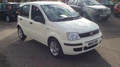 FIAT PANDA MYLIFE 5 DOOR HATCHBACK, PETROL, in WHITE, 2011 - £30 road tax - Over 57 mpg - 13666 Miles - Electric windows - ABS with EBD - Dual Drive PAS - Air conditioning - 12v Auxiliary socket - 14 inch Alloy Wheels - This car qualifies for Warranty 4 Life