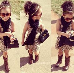 Im loving cowgirl boots on the little ones lately