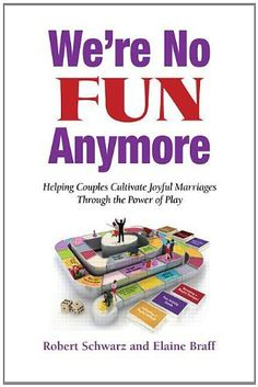 Favorite Book for Marriage and Family Therapists: We're No Fun Anymore: Helping Couples Cultivate Joyful Marriages Through the Power of Play by Robert Schwarz & Elaine Braff. Therapists will find plenty of interventions in this book to help reawaken play in the lives of couples.