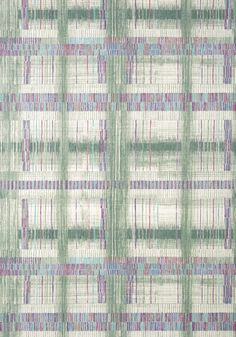 TAKAO WEAVE, Green, AT9847, Collection Nara from Anna French Anna French, Japanese Architecture, Japanese Design, Watercolor Techniques, Nara, Go Green, Natural World, Weave, Dining Room