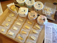 Cheese tasting at Cowgirl Creamery by Tian L.