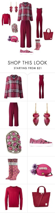 """""""to stand out"""" by emmamegan-5678 ❤ liked on Polyvore featuring Burberry, Roland Mouret, STELLA McCARTNEY, Irene Neuwirth, Bavna, Chiara Ferragni, Stance, Betsey Johnson, Z Zegna and Doughnut"""