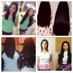 bellami hair extension before and after! prices arent bad 8c3cc19194