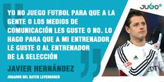 ¡Las críticas se le resbalan a #Chicharito!   #somosJUGOtv