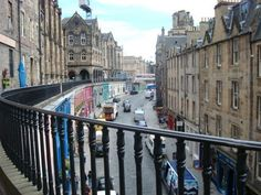 Edinburgh, Scotland   I can see the window to our hotel in this picture :)