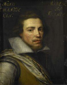 Portret van Gaspard de Coligny III (1584-1646), graaf van Châtillon sur Loing, atelier van Jan Antonisz. van Ravesteyn, ca. 1609 - ca. 1633