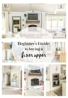I have learned so much in the 2 years we have lived in our first fixer upper home, that I decided to compile a beginner's guide to home renovations.