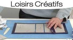 l'eclat de verre - YouTube Album Photo Scrapbooking, Fabric Book Covers, Papel Scrapbook, Diy Clutch, Mini Albums Scrap, Fabric Boxes, Cardboard Art, Altered Boxes, Day Planners