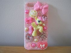 Custom My Little Pony Friendship Is Magic Fluttershy Iphone 5 Case Cover Couture